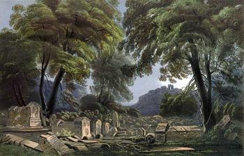 Остатки караимского кладбища