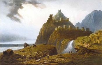 Геннуэская крепость в Судаке